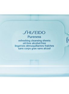 Shiseido Pureness Refreshing Cleansing Sheets Oil-Free