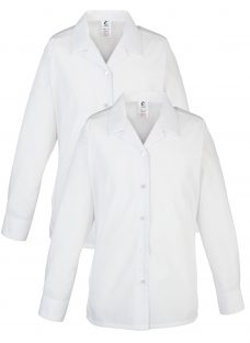Alleyn's Lower and Middle School Girls' Open Neck Blouse