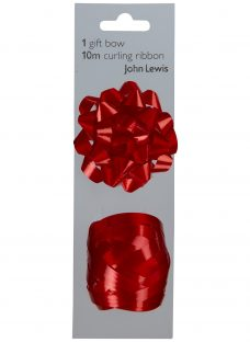 John Lewis Gift Bow and Curling Ribbon Set