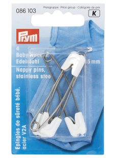 Prym Stainless Steel Nappy Pins