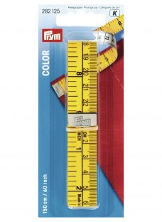 Prym Colour Analogical Tape Metric And Inch Tape Measure