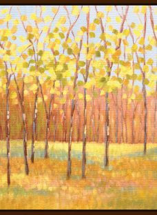 Libby Smart - Yellow and Green Trees