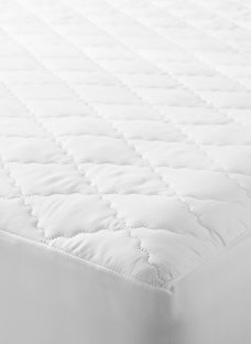 John Lewis Synthetic Soft Touch Washable Quilted Mattress Protector