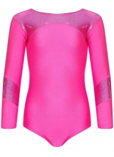 Tappers and Pointers Shine Panel Gym Leotard