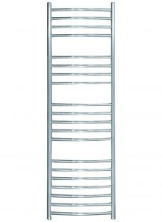 John Lewis Whitsand Central Heated Towel Rail and Valve