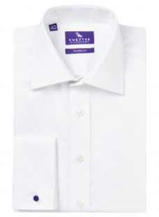 Chester by Chester Barrie Oxford Tailored Long Sleeve Shirt