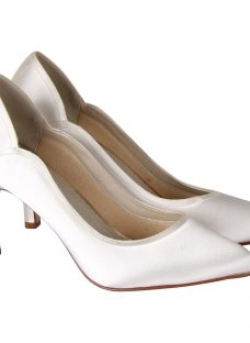 Rainbow Club Lucy Satin Court Shoes