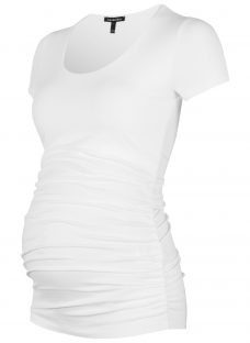Isabella Oliver Ruched Maternity T-Shirt