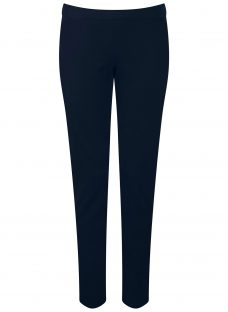 Pure Collection Cotton Stretch Cropped Trousers