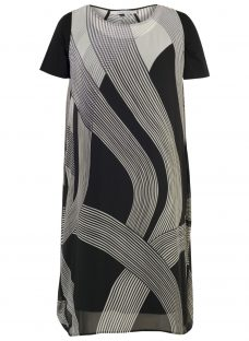 Chesca Abstract Ombre Dress