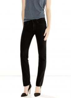 Levi's 714 Mid Rise Straight Jeans