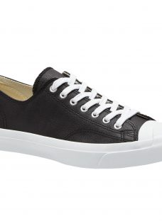 Converse Jack Purcell Lace-Up Leather Trainers