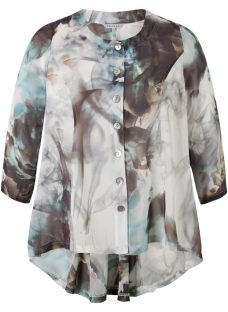 Chesca Abstract Print Top