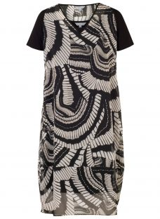Chesca Printed Cocoon Dress