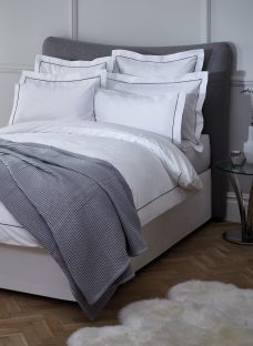 John Lewis Piped Trim 400 Thread Count Egyptian Cotton Bedding