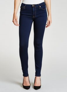 7 For All Mankind High Waist Skinny Slim Illusion Jeans