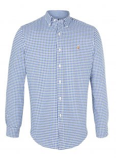 Polo Ralph Lauren Gingham Oxford Sport Long Sleeve Shirt