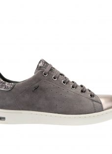 Geox Jaysen Glitter Lace Up Trainers