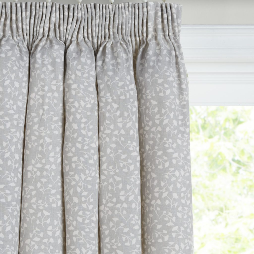 John Lewis Arley Pair Lined Pencil Pleat Curtains