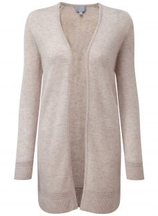 Pure Collection Kiera Rib Cashmere Cardigan