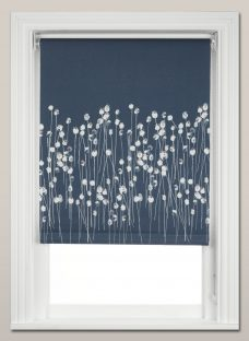John Lewis Croft Collection Poppy Heads Blackout Roller Blind