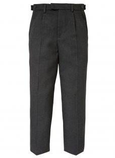 John Lewis Boys' Easy Care Adjustable Waist Tailored Fit School Trousers