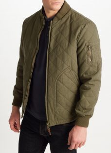 JOHN LEWIS & Co. Quilted Bomber Jacket