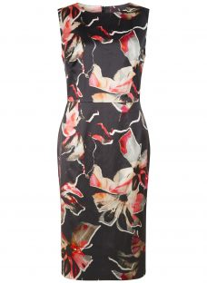 Fenn Wright Manson Petite Lily Print Horizon Dress