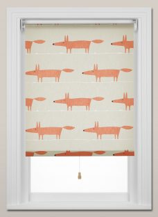 Scion Mr Fox Roller Blind