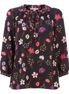 Fenn Wright Manson Botanical Print Antibes Top