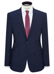 Calvin Klein Pindot Wool Tailored Fit Suit Jacket