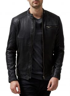 Selected Homme New Tylor Leather Jacket
