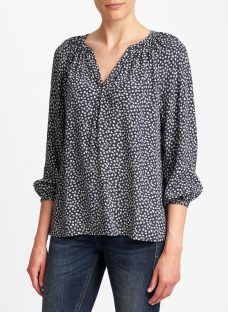 Collection WEEKEND by John Lewis Lavinia Sketchy Hearts Top