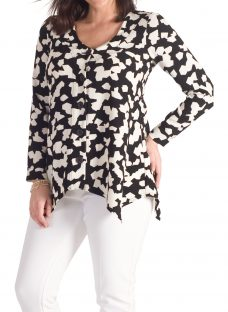 Chesca Abstract Jigsaw Jacket