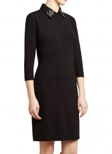 Winser London Detachable Collar Dress