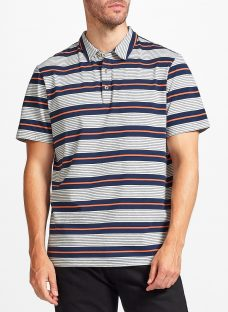 John Lewis Double Stripe Polo Shirt