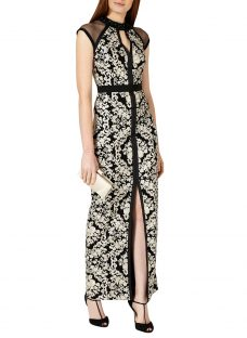 Phase Eight Collection 8 Elodie Embroidered Full Length Dress