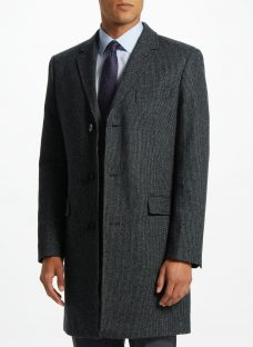 John Lewis Semi Plain Epsom Coat