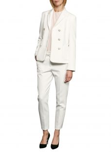 French Connection Sundae Suiting Long Sleeve Blazer