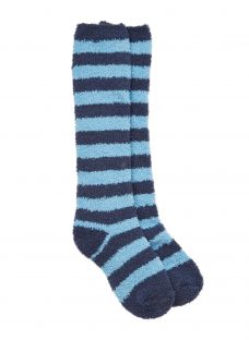 John Lewis Children's Striped Fluffy Socks