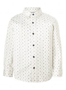 John Lewis Heirloom Collection Boys' Geometric Print Shirt