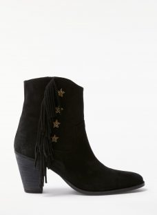AND/OR Taryn Star Fringed Ankle Boots