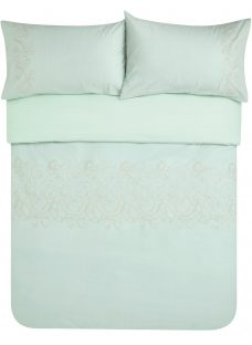 John Lewis Palace Embroidered Duvet Cover and Pillowcase Set