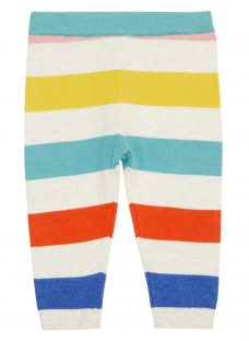 John Lewis Baby Stripe Knit Leggings