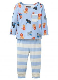 Baby Joule Lion 2 Piece Pyjama Set