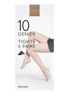 John Lewis 10 Denier Sheer Tights