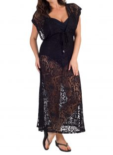 Chesca Lace Maxi Dress Cover Up