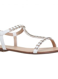 Carvela Blaze T-Bar Embellished Sandals
