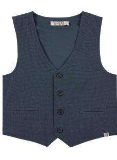 Wheat Baby Front Button Waistcoat