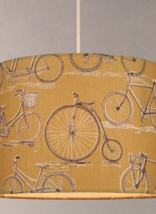 Voyage Bicycles Cylinder Lampshade